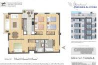 TIPO A en Carrer de Guillem d'Anglesola, 6, 46022 València, Valencia, España para 91, 48 m2 const