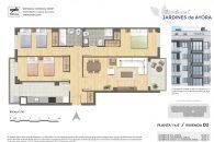 TIPO D en Carrer de Guillem d'Anglesola, 6, 46022 València, Valencia, España para 99,57 m2 cons