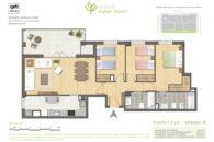 PATERNA TIPO A en calle Rocafort Paterna para 107 m2 construidos