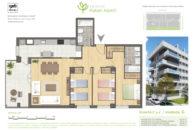 PATERNA TIPO G en calle Rocafort Paterna para 97.29 m2 cont